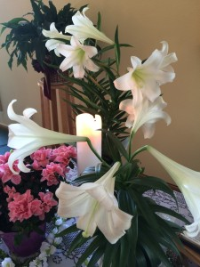 Lilies at Easter